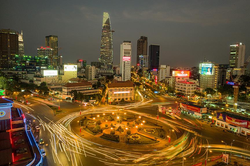 Saigon Kreisverkehr